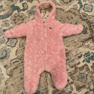 Juicy Couture Baby Girl Snowsuit/ Bunting Outfit